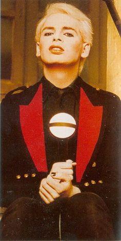 A young Gary Numan