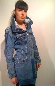 Revolution In Material Apparel - Women: Victorian Denim Jacket