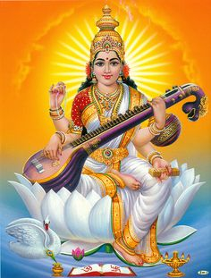 Buy Goddess Saraswati Mata Photo Frames Online for Pooja Room and Home Decor at Lowest Price in India N Pujari Saraswati Photo, Saraswati Mata, Saraswati Goddess, Indian Goddess, Goddess Lakshmi, Lord Saraswati, Durga Ji, Shiva Parvati Images, Durga Images