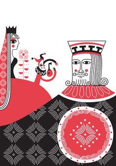 Major Project: Old and Modern Cards King William Iv, Popular Cartoons, Star Comics, Patent Prints, Arabian Nights, Woodblock Print, Deck Of Cards, Letterpress, Design Elements
