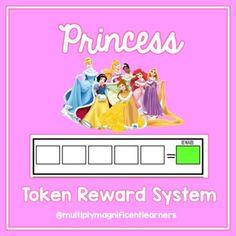 Behavior Rewards, Behavior Interventions, Reward System, Positive Reinforcement, Teacher Tools, Autism, Packing, Princess, Bag Packaging