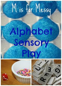 learning letters with messy activities for kids