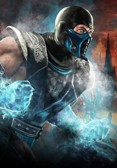 Mortal Kombat: Sub-Zero..... If my son comes home one day with this tattooed on him somewhere..... I would not be surprised!