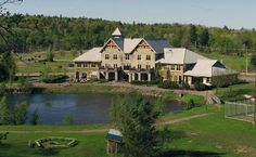 The Calabogie Peaks Hotel, nestled in the heart of the Ontario Highlands. Snowboarding, Skiing, Winter Pictures, Highlands, Ontario, Pond, Trip Advisor, Mansions, House Styles
