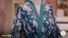 Great British Sewing Bee garment of the week. It's this pattern I think...https://www.etsy.com/au/listing/214039222/2-fabric-kimono-tutorial-pdf?ref=related-0