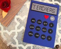 Teacher Appreciation Card, Teacher Card, Teacher Thank You Card, Teacher Birthday Card