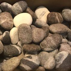 felt carpet supersoft pebbles - felt stone carpet, wool from sheep & lama Stone Rug, Felt Art, Etsy, Carpet, Make It Yourself, Wool, Rugs, Shower Designs, Sheep