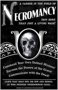 Necromancy                                                                                                                                                                                 More