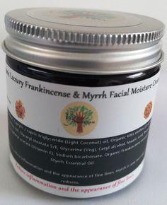 Organic Luxury Frankincense & Myrrh Facial by VeganSmeegan on Etsy