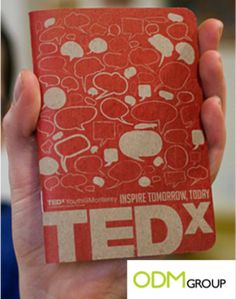 Do not miss any words of TEDx conferences with this unique notebook.
