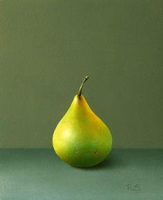 Rene Smoorenburg - Groen peertje 15 x 12,5 cm €2400