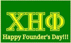 Happy Founders Day! Chi Eta Phi!