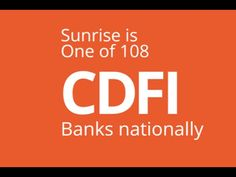 What is a CDFI? A Community Development Financial Institution is a mission driven financial institution dedicated to providing financial products and service. Csr Report, Corporate Social Responsibility, Strong Relationship, Financial Institutions, Banks, Sunrise, September, Meet, Community