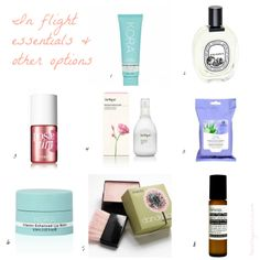 On the blog www.travellingassassin.com In flight essentials part 1