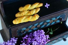 Food photography, easter cookies, lilacs, rustic props