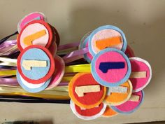 Felt medals for Teachers' Day