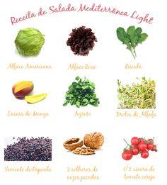Salada Mediterrânea Light