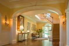 The welcoming foyer. HireContractor.com for all your Home Improvement needs