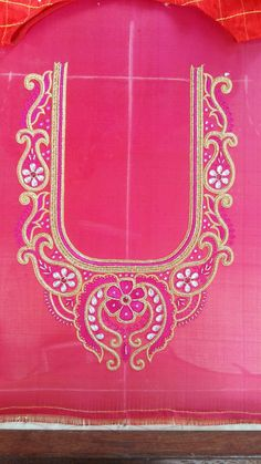 Blouse Designs Silk, Designer Blouse Patterns, Bridal Blouse Designs, Aari Work Blouse, Maggam Works, Back Neck Designs, Cut Work, Pattern Books, Flower Designs