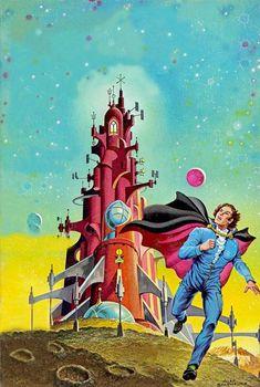 70sscifiart: alex schomburg - isaac asimovs science fiction magazine september 1980 (by myriac)