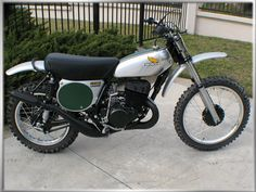 1973 Honda CR250 Elsinore- just like the dirt bike I used to ride. I am grinning like an idiot as I type!!