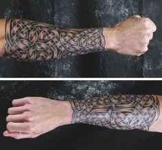 celtic tattoo on wrist