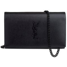 Saint Laurent Clutch ($1,440) ❤ liked on Polyvore featuring bags, handbags, clutches, shoulder bag purse, yves saint laurent handbags, yves saint laurent purses, yves saint laurent shoulder bag and shoulder handbags