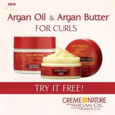 FREE Creme of Nature with Argan Oil for Curls Prize Packs - First 1,500 - Coupon Clipinista