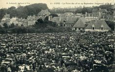 Vire cattle market - Vire Normandy before 1944  http://www.normandythenandnow.com/rise-like-a-phoenix-vire/