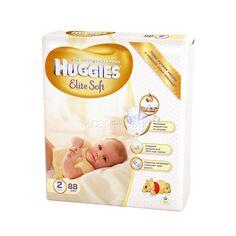 Подгузники Huggies Elite Soft Mega Pack 4-7 кг (88 шт) Размер 2