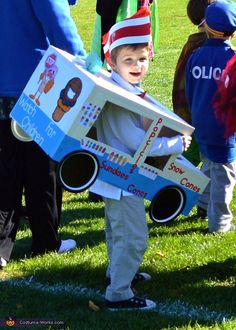 Lauren: Carson is 5 years old and loves ice cream. He even once made his mom follow an ice cream truck until it stopped to score his favorite treat. Costume was...