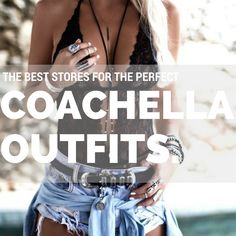 A list of the best online stores to shop for your PERFECT Coachella Outfit, including festival style inspiration and EXCLUSIVE coupon codes!