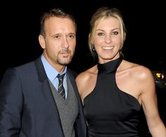 Tim McGraw & Faith Hill - Country Music Royalty -  I hope these two stay married forever!
