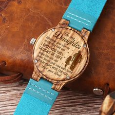My Daughter Stronger Love Mom Engraved Wooden Watch – Family Love Shop Great Gifts For Wife, Love Gifts, Gifts For Him, Diy Gifts, Useful Gifts For Men, Geek Gifts, Party Gifts, Unique Gifts, Boyfriend Anniversary Gifts