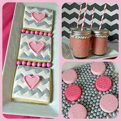 Treats at a Valentine's Day Party #valentine #treats