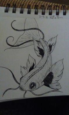 Koi fish practice 2-9-16 Kat Bogue