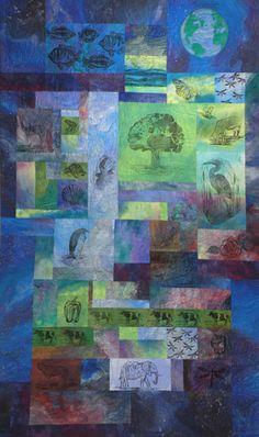 Canticle of Creation: Mother Earth - Jill Jensen quilts