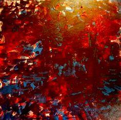 Come fare per dipingere un bellissimo quadro astratto... olio o ...