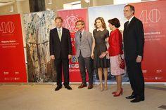 La Reina Doña Letizia inauguró la exposición que recorre los 40 años de la Asociación Hispania Nostra. 23-05-2016
