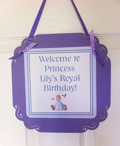 Hey, I found this really awesome Etsy listing at http://www.etsy.com/listing/128218500/sofia-the-first-door-sign