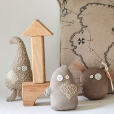 Make these simple stuffed toy ghosts to decorate the house for Halloween. Especially popular with kids!