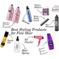 1000  ideas about Fine Hair Products on Pinterest