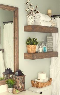 Farmhouse Inspired Bathroom Makeover