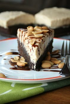 Peanut Butter Brownie Cake | Lauren's Latest