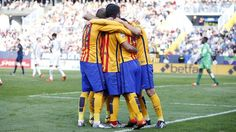 FC Barcelona's win at Málaga, by the numbers Fc Barcelona Shop, Barca Team, Messi, Sports News, Win, Numbers, Twitter, Photo Galleries