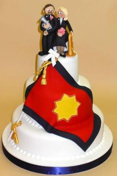For my salvo friends! Army Wedding Cakes, Army Cake, Sally Ann, My Church, Novelty Cakes, Good Old, Charity, Cake Decorating, Special Occasion