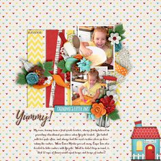Kit: To Grandma's House we go - LJS Designs Template: Hooking Up Collab - Crystal Livesay & Jimbo Jambo Designs Font: Bakery