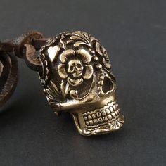 Sugar skull pendant my-style