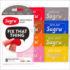 Our #1 Favorite #cleverfind: Sugru -- Fix That Thing