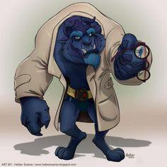 Les personnages Disney version Marvel !